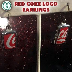 Coca~Cola Earrings 🥤 🇺🇸 🥰